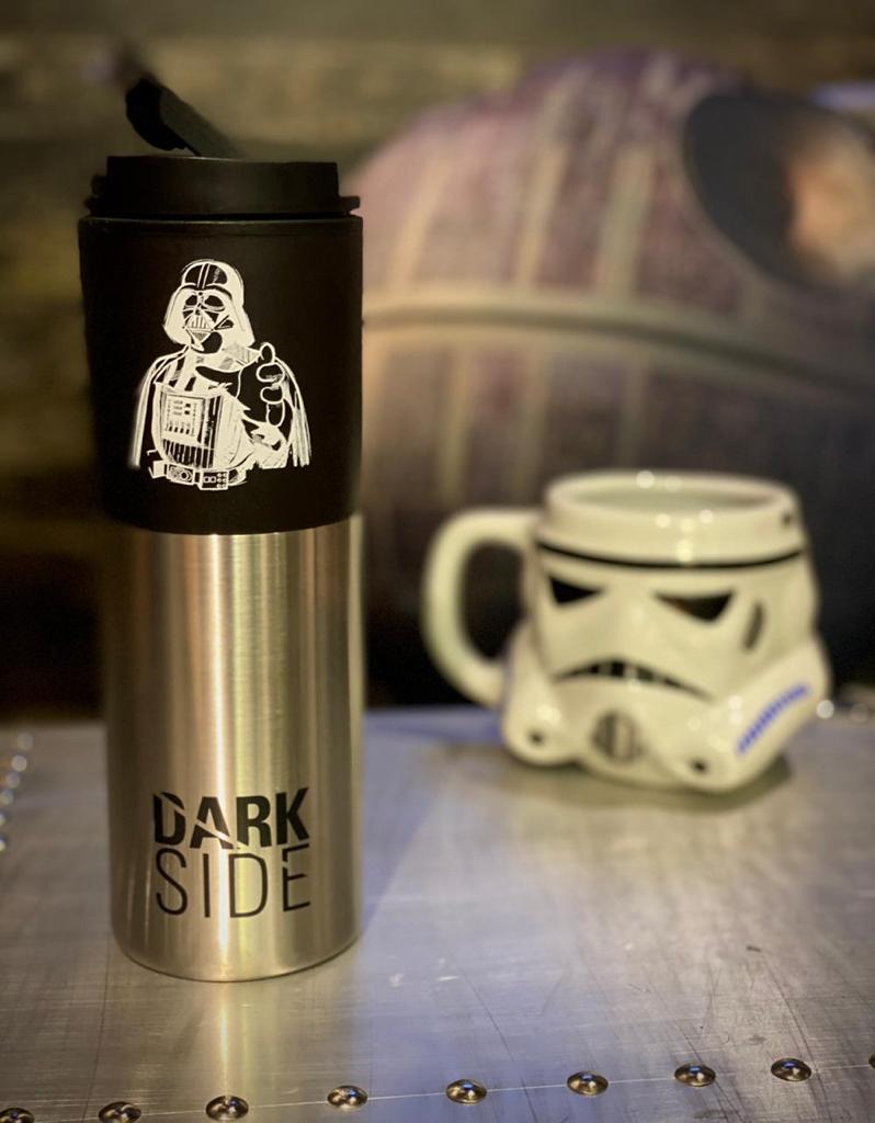 Copo Térmico Para Viagem Darth Vader: Star Wars