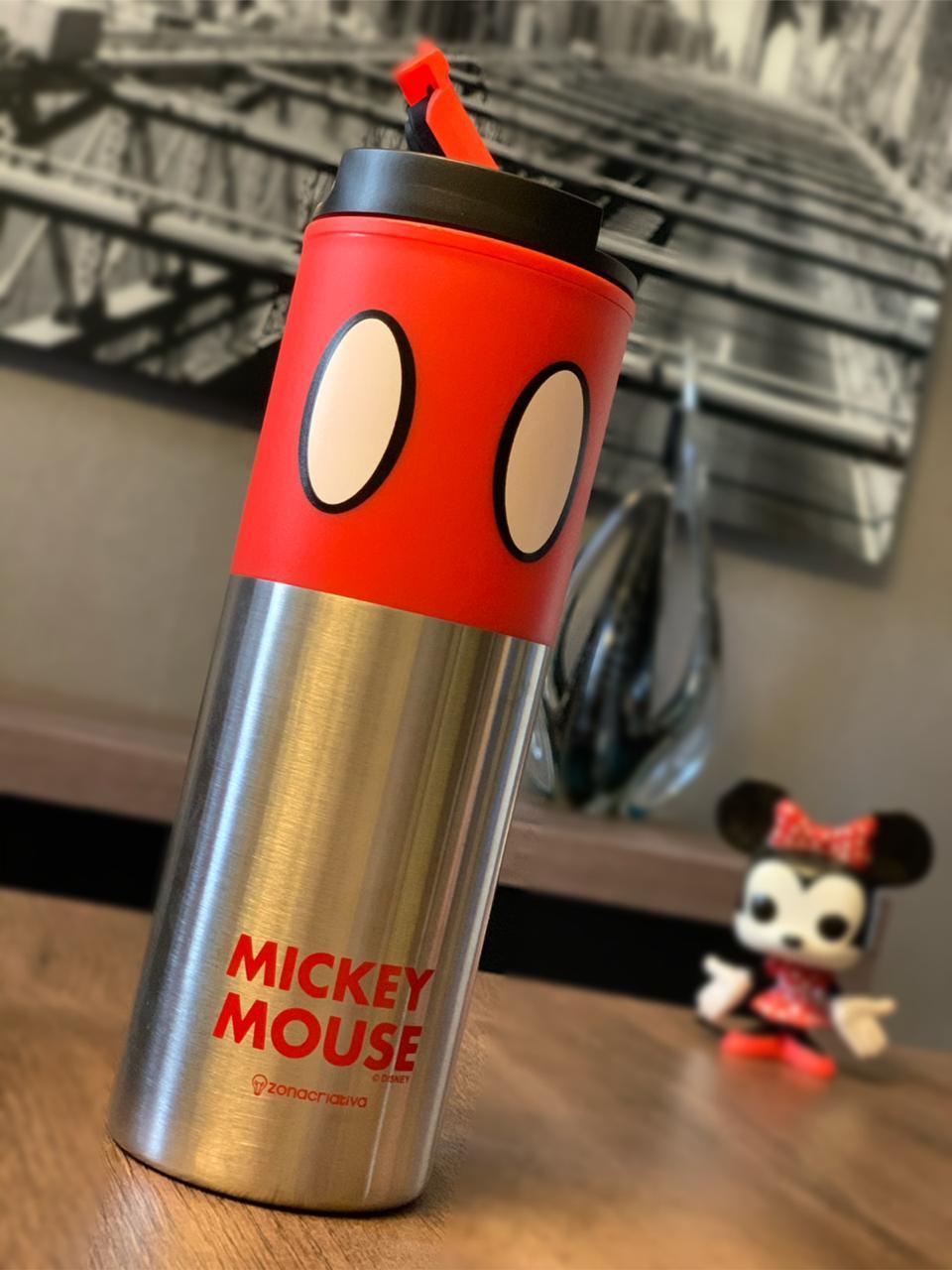 Copo Térmico para Viagem Mickey Mouse (500ml)