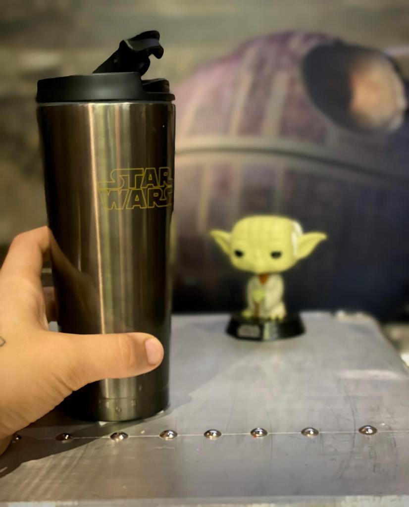 Copo Térmico para Viagem Star Wars (400ml) - Zona Criativa