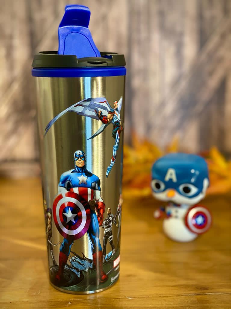 Copo Térmico para Viagem Vingadores (Avengers): Marvel (450ml)