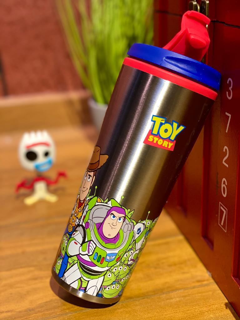 Copo Térmico para Viagem Woody & Buzz: Toy Story (450ml)