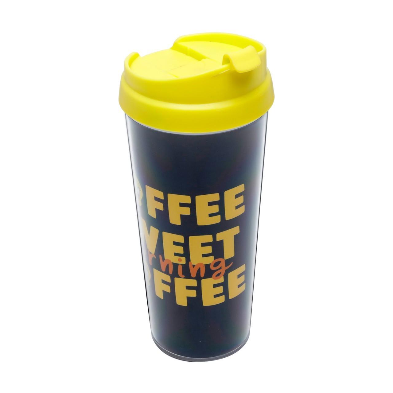 """Copo Térmico Piu Piu """"Coffe"""" - 500ml"""