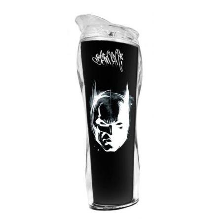 Copo Térmico Plástico Batman Face - DC Comics