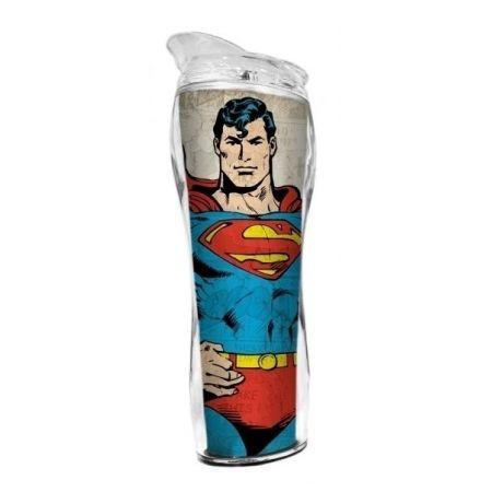 Copo Térmico Plástico Superman Body - DC Comics