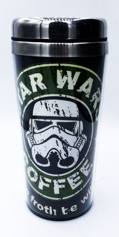 Copo Térmico Stormtrooper (Star Wars Coffee): Star Wars - (450ML)