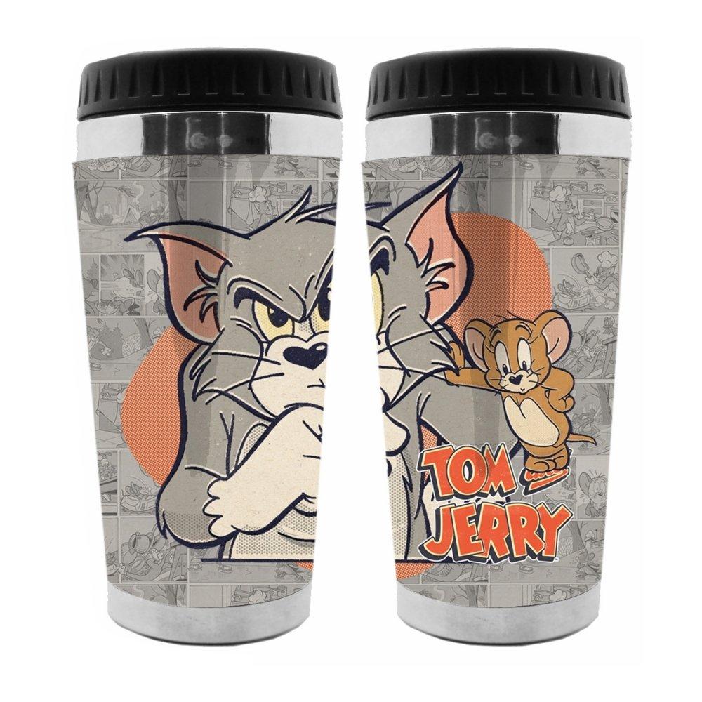 Copo Térmico: Tom e Jerry