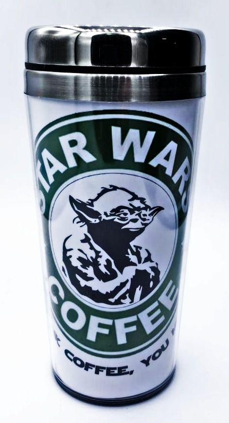 Copo Térmico Yoda (Star Wars Coffee): Star Wars - (450ML)