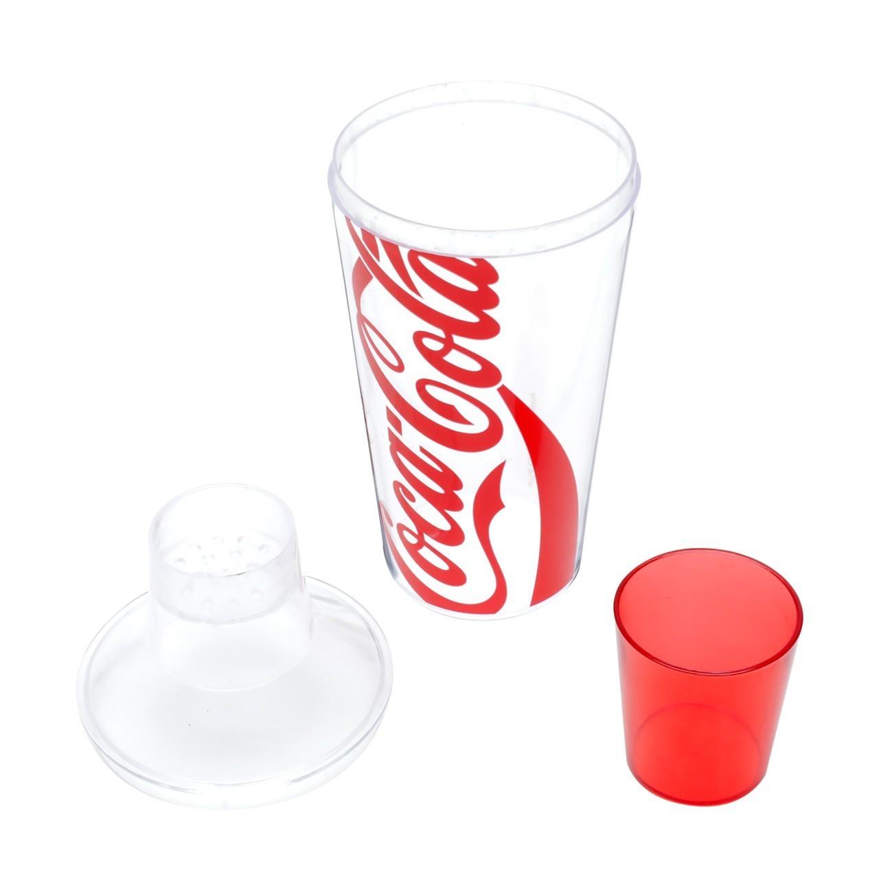 Coqueteleira de Plastico: Coca-Cola logo Transparente - Urban