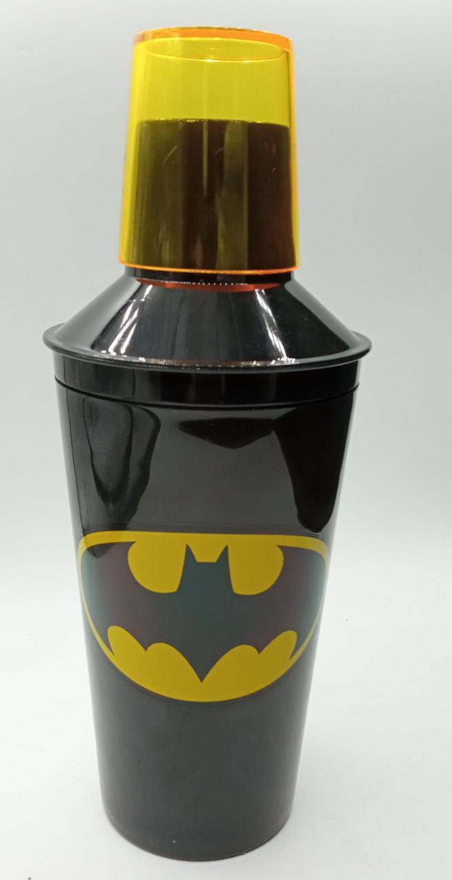 Coqueteleira de Plástico Logo Batman: DC Comics - Metropole