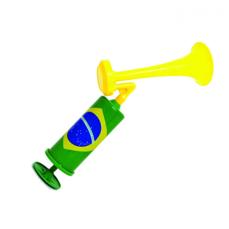 Corneta Com Bomba de Ar (Verde e Amarelo): Copa do Mundo