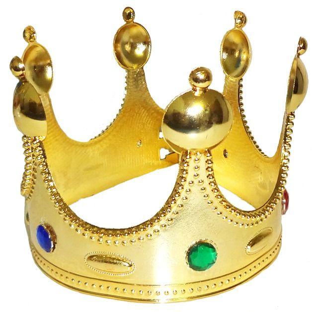 Coroa de Rei - Acessório de Fantasia