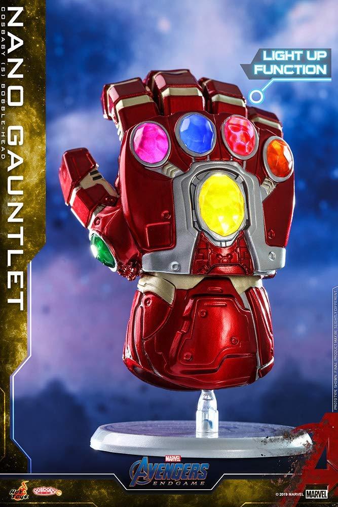 Cosbaby Manopla do Infinito (Nano Gauntlet): Vingadores Ultimato (Avengers Endgame) - Hot Toys
