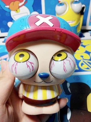 Crazy Pull Eyes Toys Tony Tony Chopper: One Piece - Antiestresse - MKP