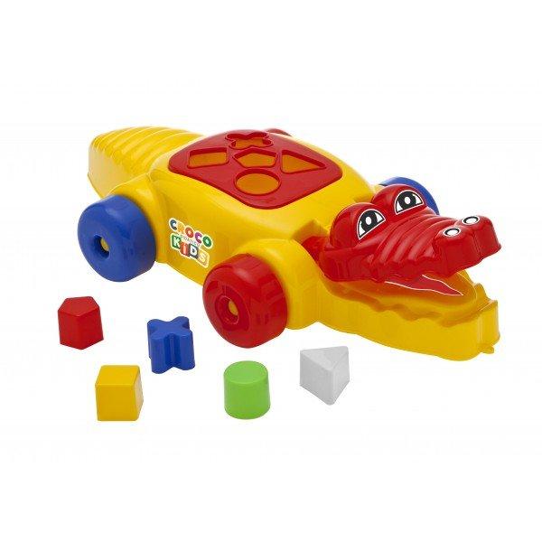 Croco Didático Kids - Amarelo