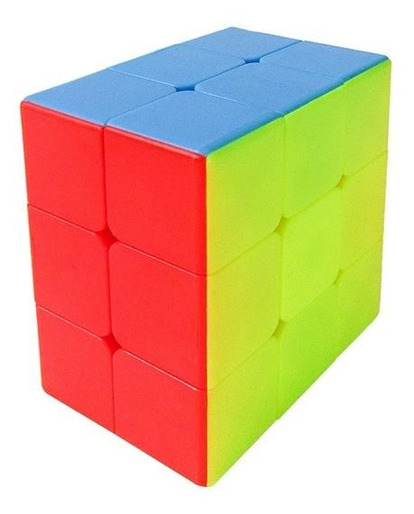 Cubo Magico: 3x3x2 Qiyi Stickerless (Com Borda) (JHT893) Fidget - Jiehui Toys