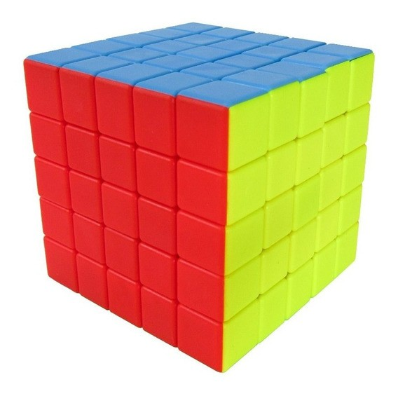 Cubo Mágico: 5X5 Speed Cube (JHT346) - Jiehui  Toys
