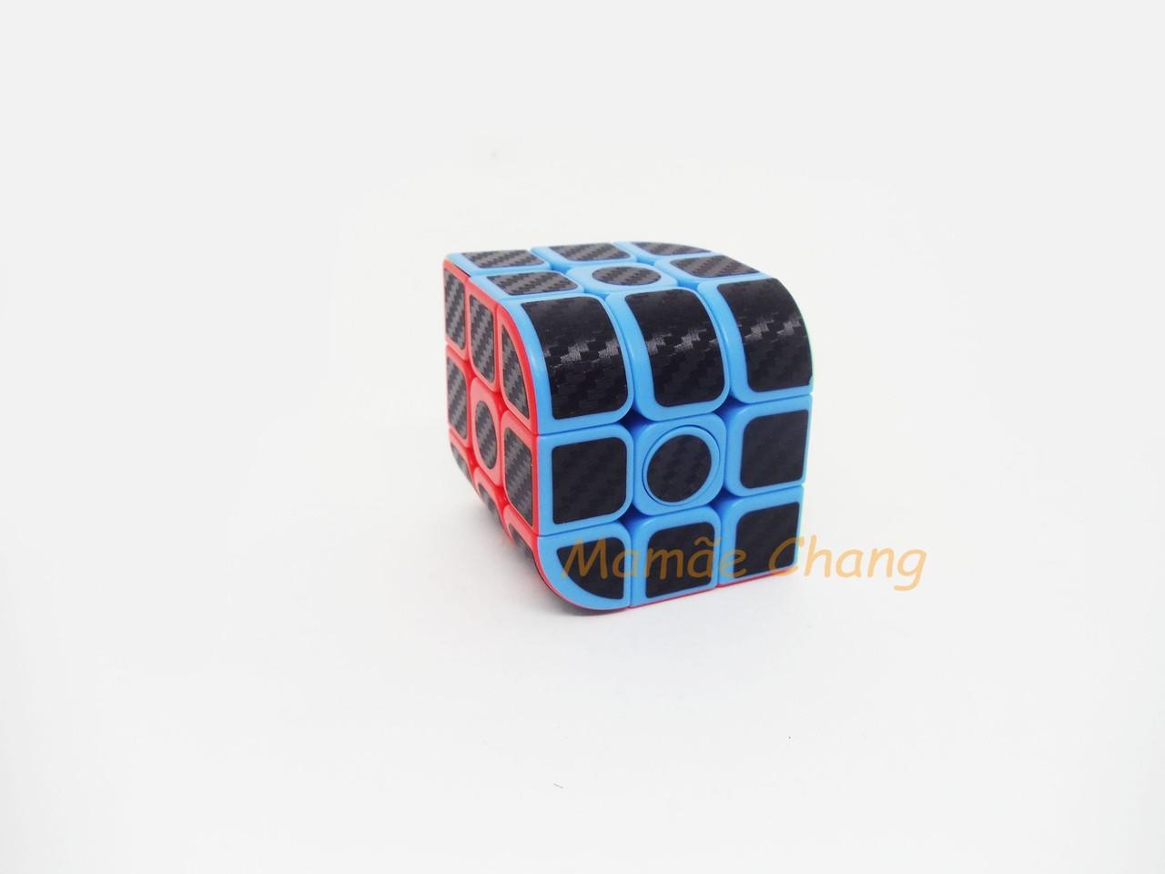 Cubo Mágico Curvo Rotacional 3X3X3 (JHT714) Fidget - Jiehui