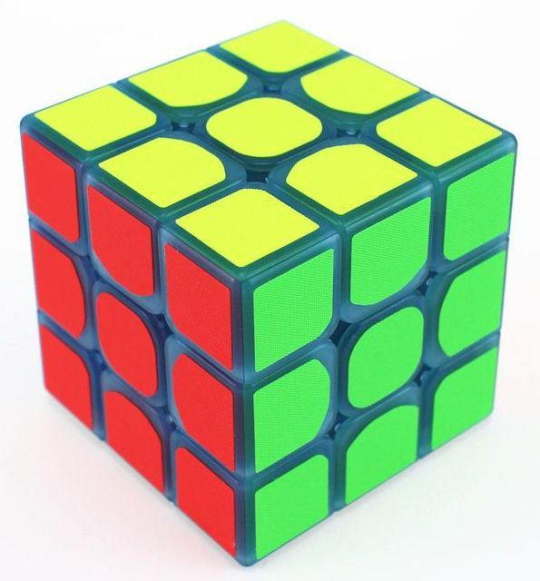 Cubo Mágico Profissional 3x3 (Borda Preta)