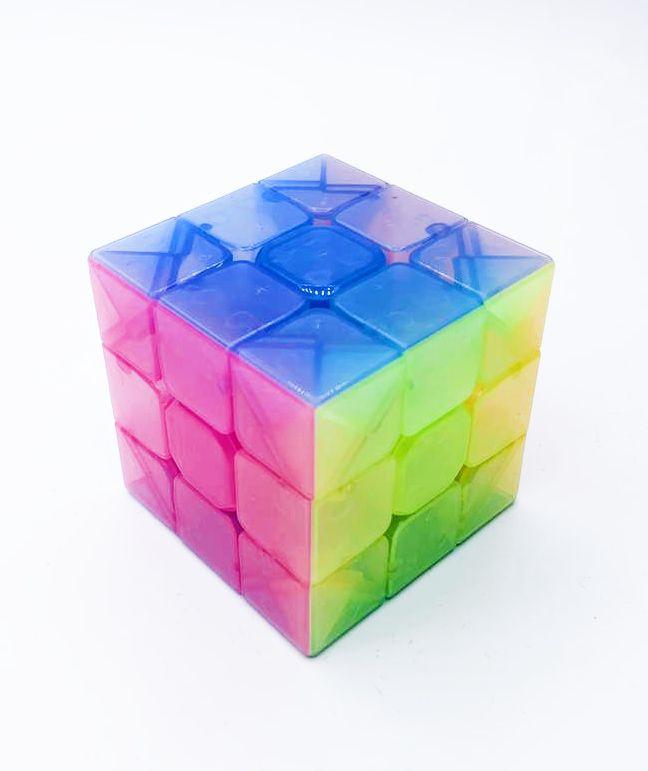 Cubo Mágico (Magic Cube) Transparente - Cui Feng