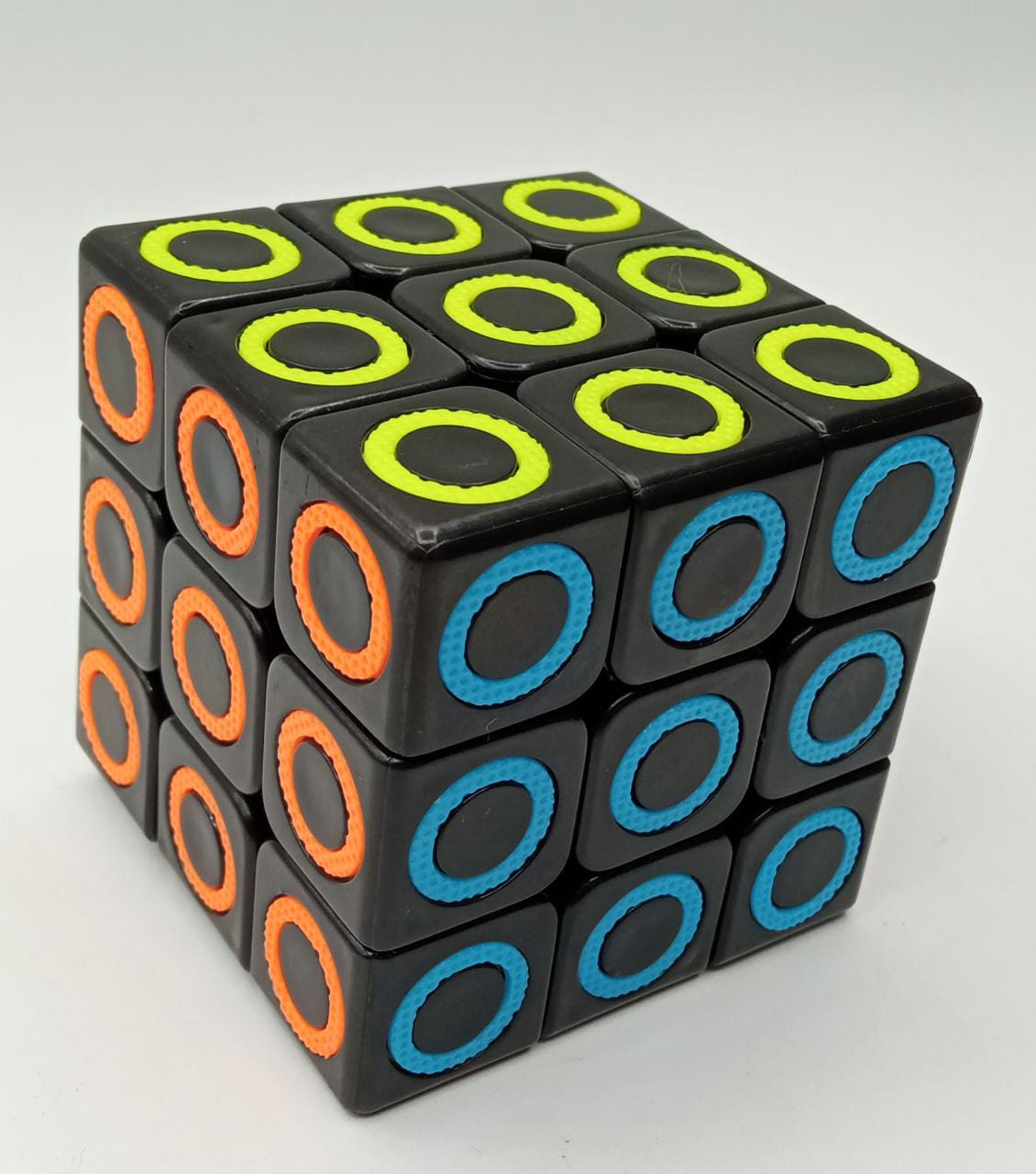 Cubo Mágico: Profissional Círculos (902) - Preto
