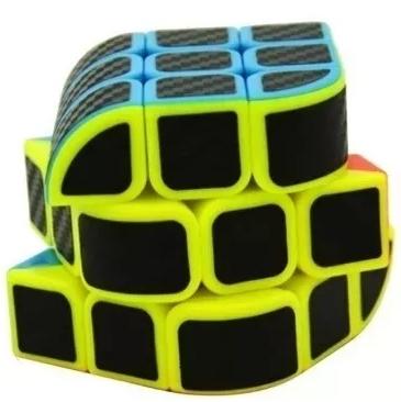 Cubo Mágico Profissional Curvo (3X3X3)