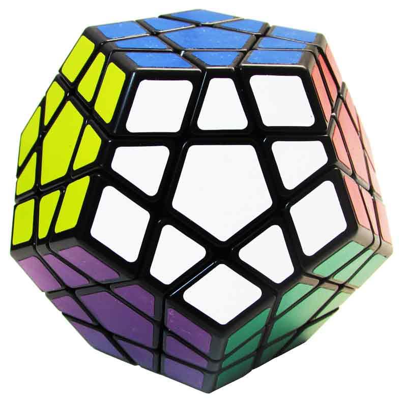 Cubo Mágico 12x12 (Preto) (JHT499-2) - Jiehui Toys Fidget