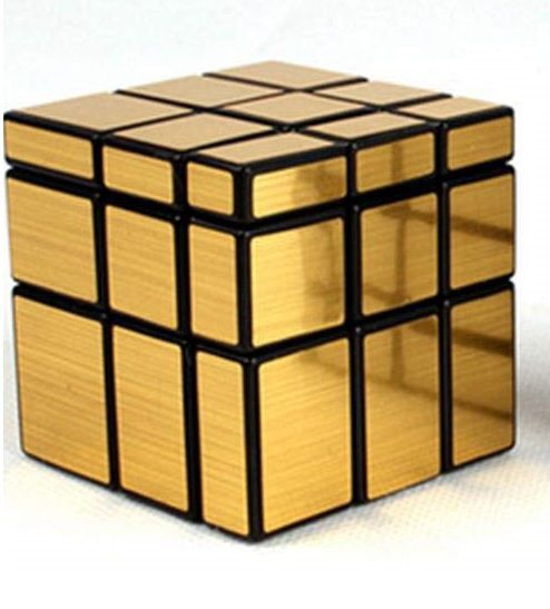 Cubo Mágico Profissional Shengshou Mirror (Dourado)
