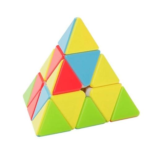Cubo Magico: Pyraminx Qiyi MS Stickerless Magnético (FX8808) - Fanxin