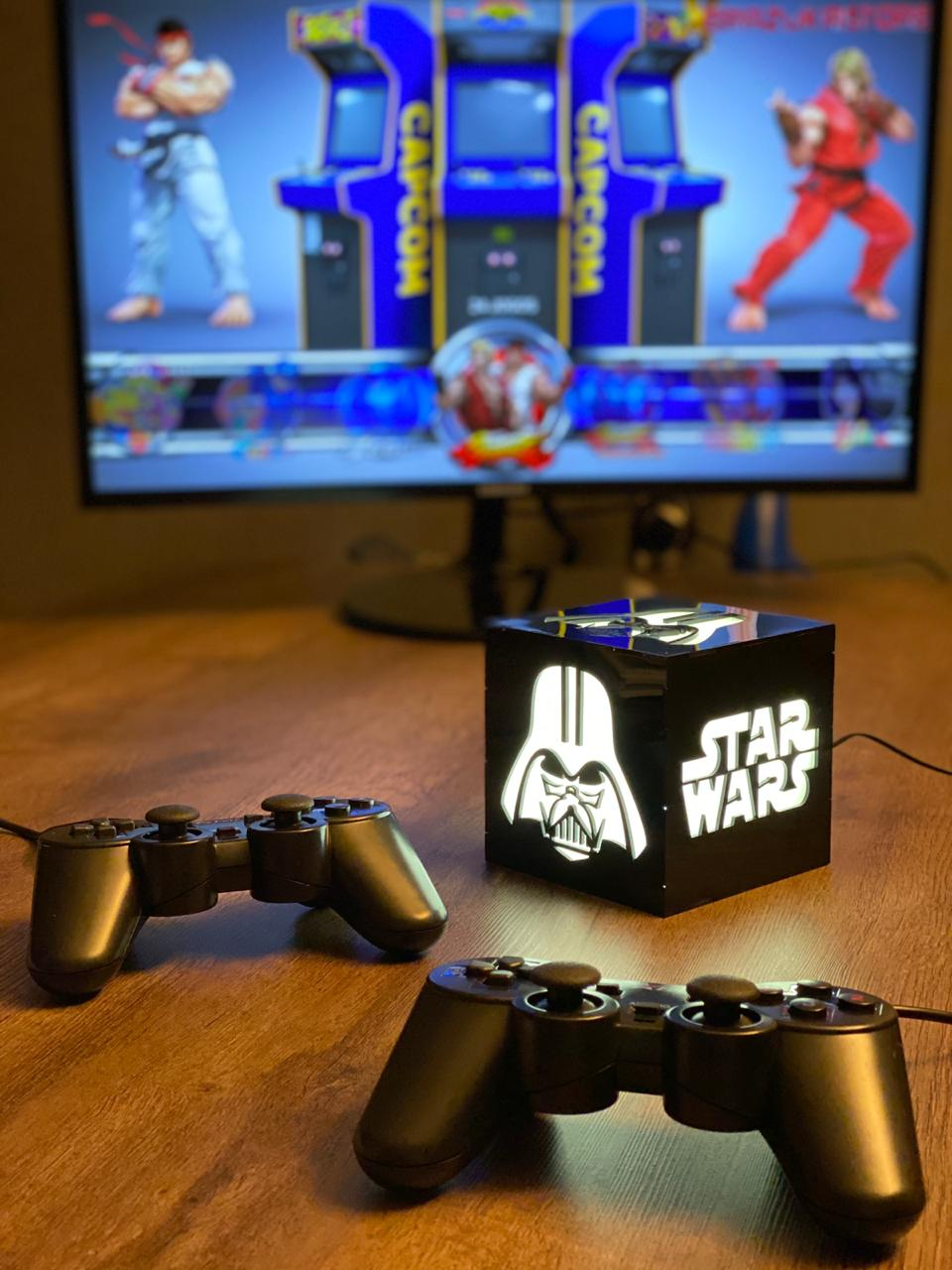 Cubo Retrô Box Star Wars: Fliperama Arcade Game (20.000 Jogos) PlayStation/Nintendo/SNES/Mega Drive/Sega Saturn