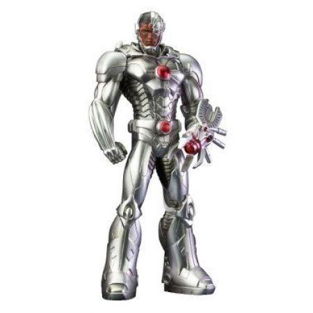 Cyborg Estátua Liga da Justiça New 52 1:10 - Artfx Kotobukiya