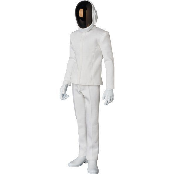 Daft Punk RAH Guy Manuel White Suit  - Medicom SD