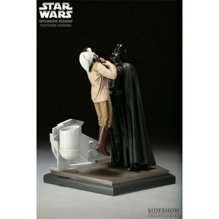 Darth Vader Diorama Diplomatic Mission Episode IV New Hope - Sideshow
