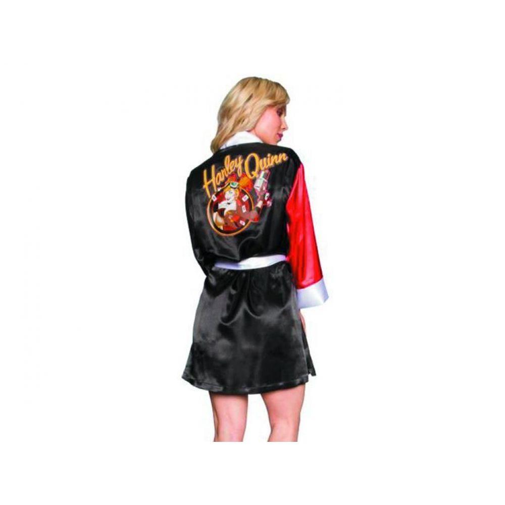 DC Bombshells Satin Robe Harley Quinn - DC Comics
