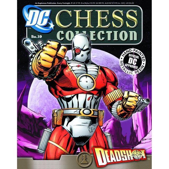 DC Chess - #39 Deadshot Black Pawn - Eaglemoss