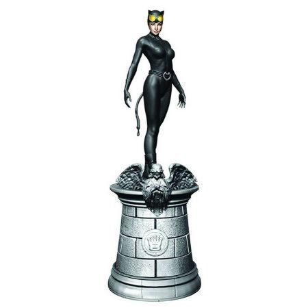 DC Chess - #5 Catwoman White Queen - Eaglemoss