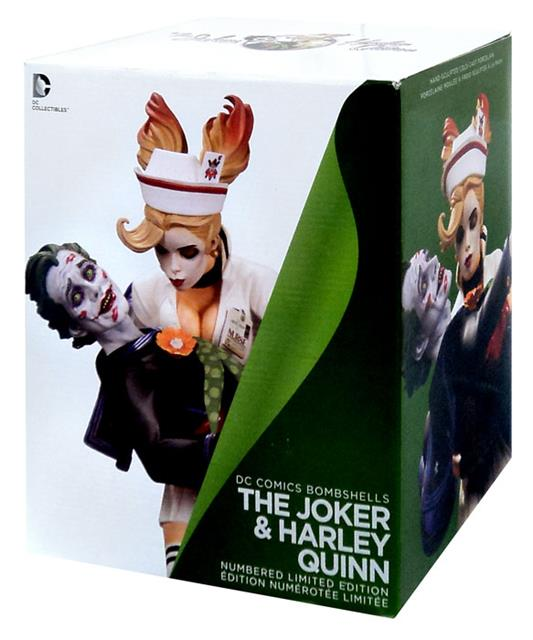 DC Comics Bombshells Joker And Harley Quinn Estátua - DC Collectibles