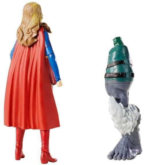 Boneco Supergirl: DC Comics Multiverse  (New 52 Doomsday) - Mattel Toys