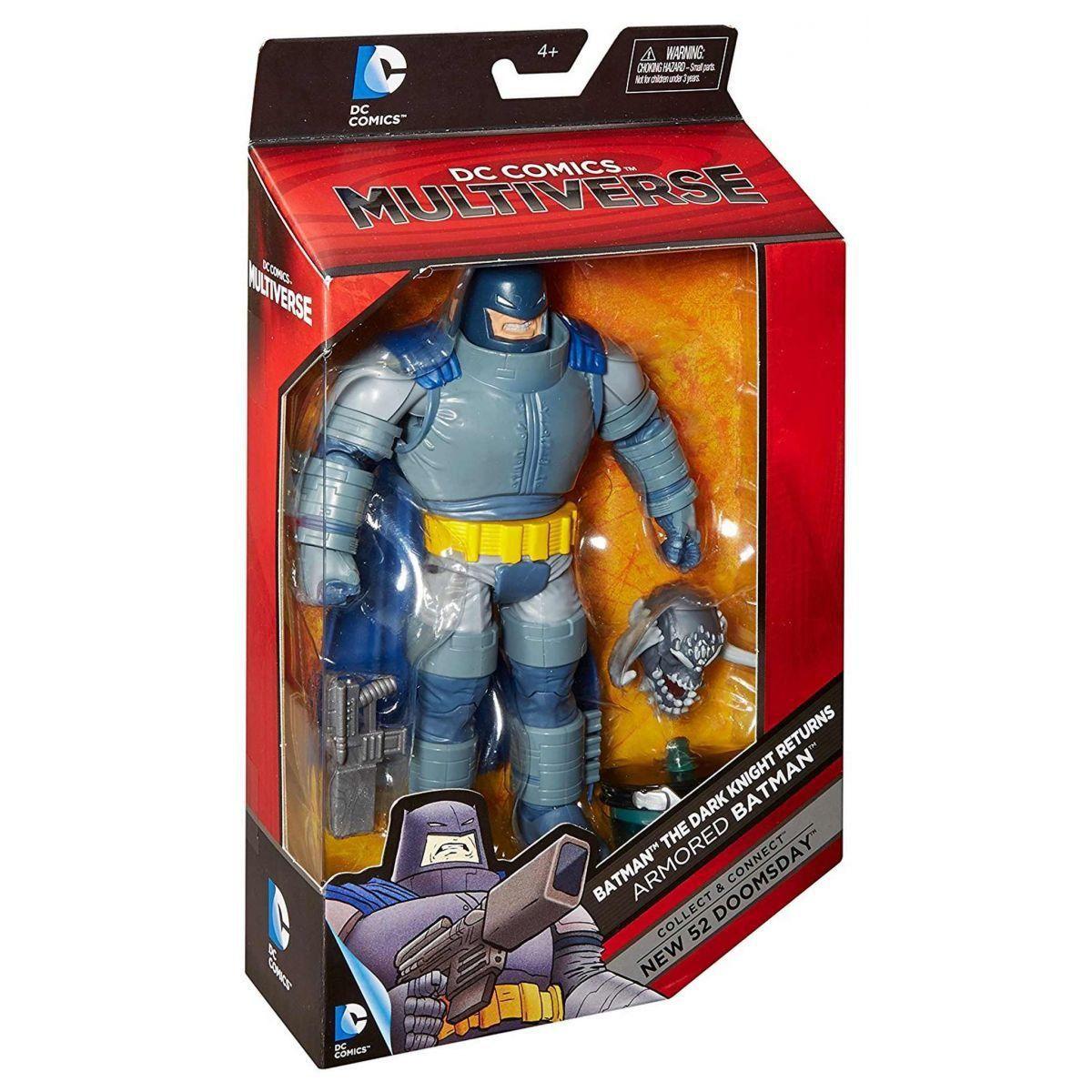 Boneco Armored Batman: DC Comics Multiverse: The Dark Knight Returns - Mattel
