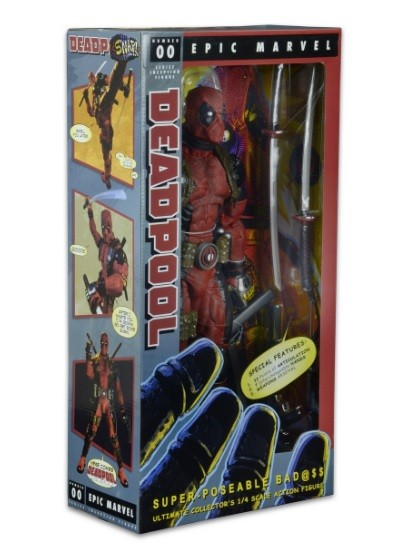 Deadpool Escala 1/4 - Neca