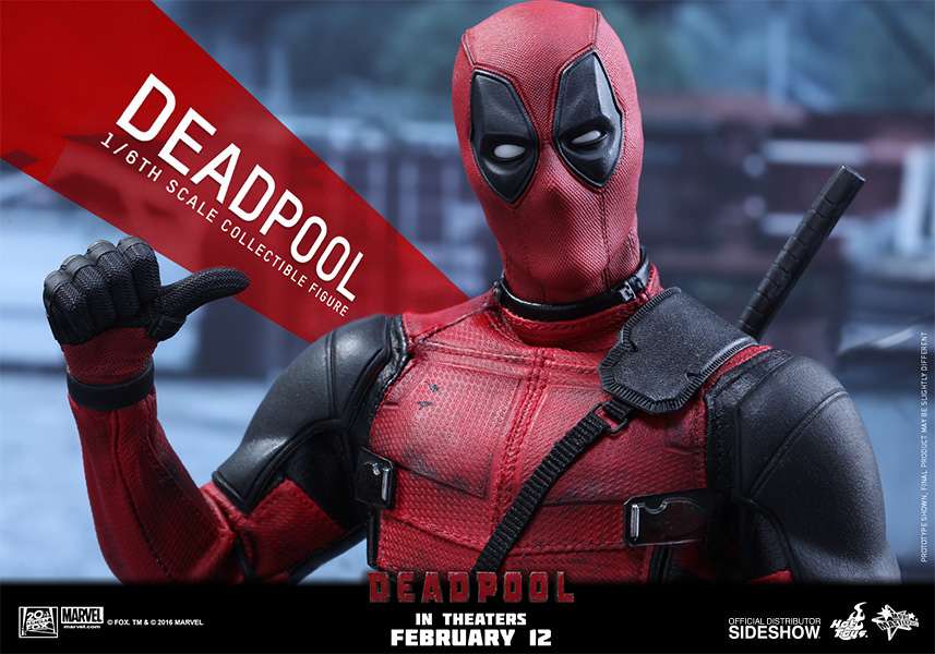Deadpool Escala 1/6 - Hot Toys