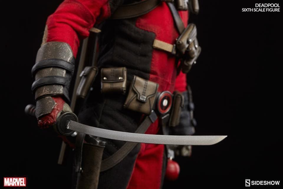 Action Figure Deadpool: Marvel Collectibles 1/6 - Sideshow Collectibles