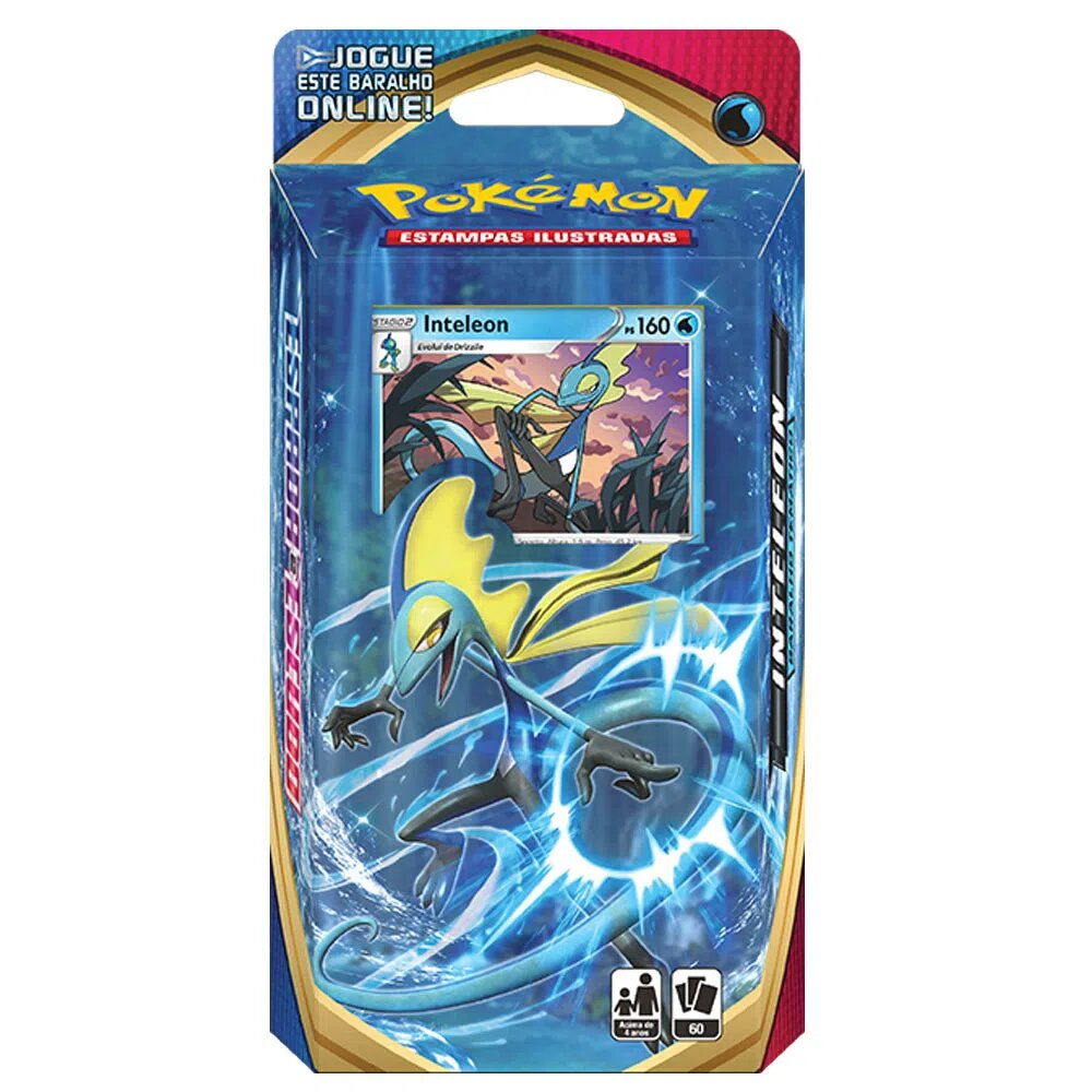 Deck Para Iniciante (Starter Deck) Card Pokémon: Espada e Escudo Inteleon - Pokémon