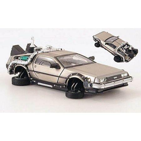 Delorean Back To The Future Time Machine Hot Whells Elite Part II 1:43 - Mattel