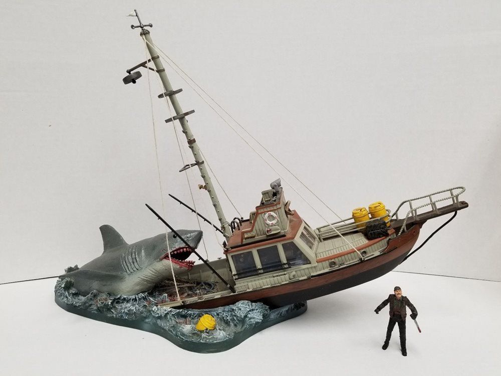 Deluxe Box Set Tubarão (Jaws): Movie Maniacs - McFarlane - CG
