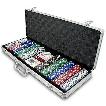 Deluxe Poker Game Set: Maleta de Poker