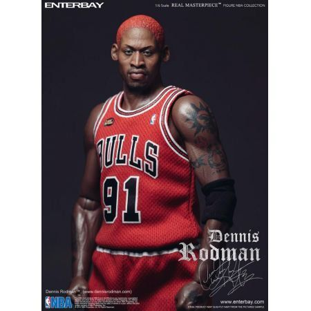 Dennis Rodman Real Masterpiece 1:6 - Enterbay