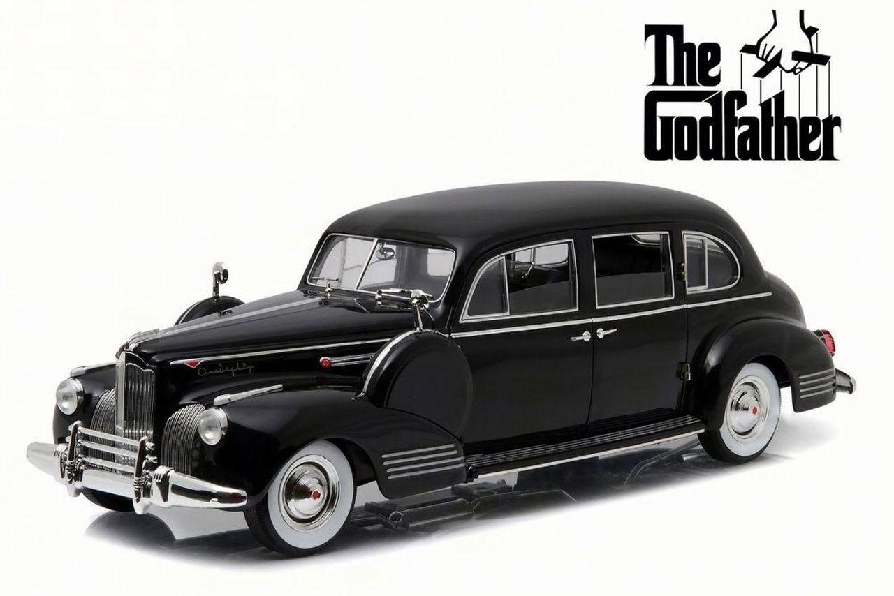 Diecast 1941 Packard Super Eight One-Eighty: O Poderoso Chefão (The Godfather) - Escala 1/18 - Greenlight