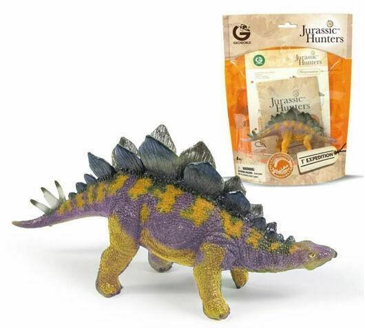 Dinossauro Stegosaurus: Jurassic Hunters (Colecionável) - Geoworld  - Toyshow Geek e Colecionáveis Tudo em Marvel DC Netflix Vídeo Games