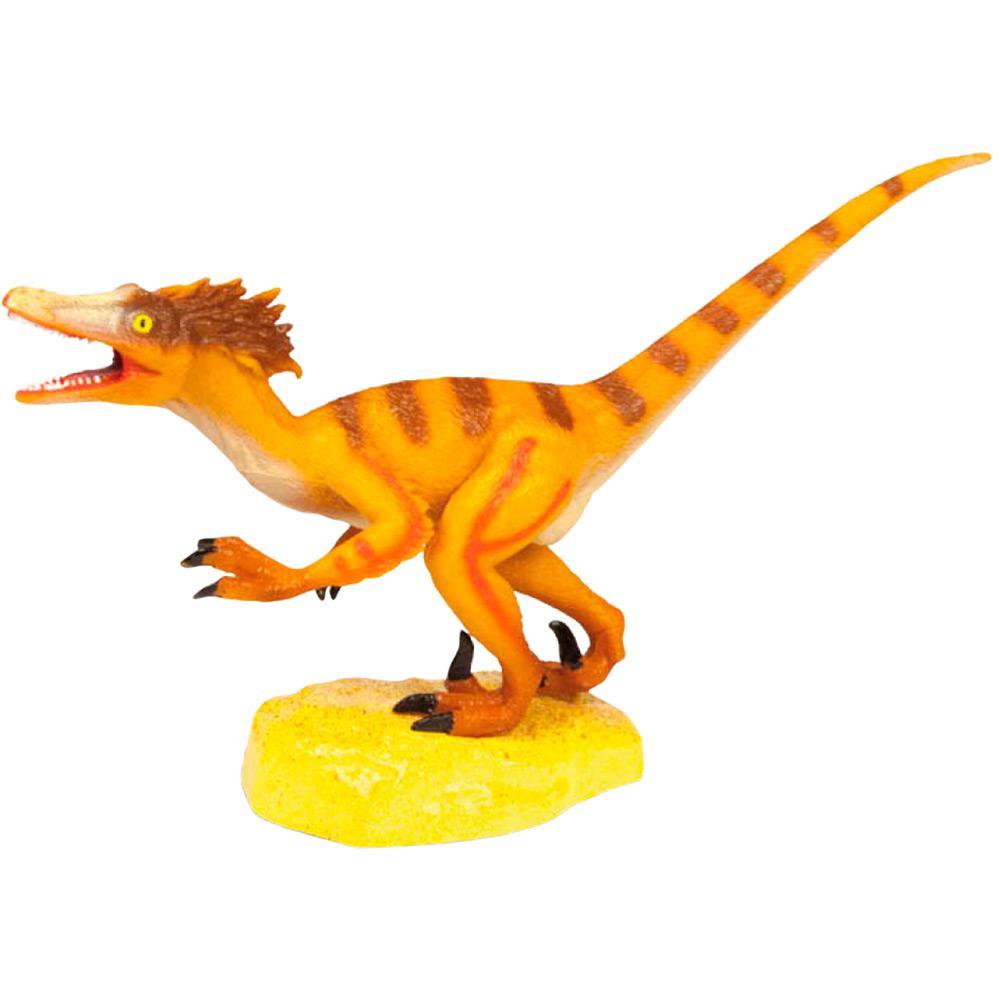 Dinossauro Velociraptor: Jurassic Hunters (Colecionável) - Geoworld