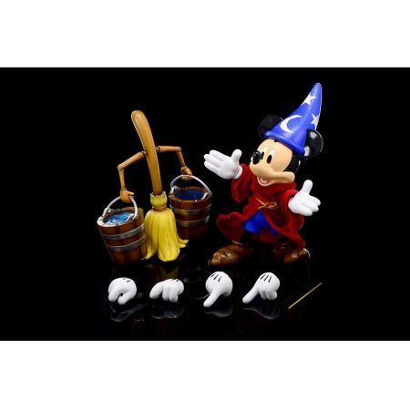 Disney Hybrid Metal Figuration #009 Sorcerer Mickey - HeroCross